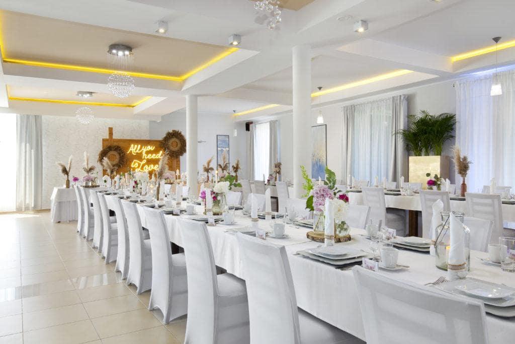Restauracja Biancas sala weselna